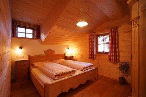 Appartement Alpin Schlafzimmer