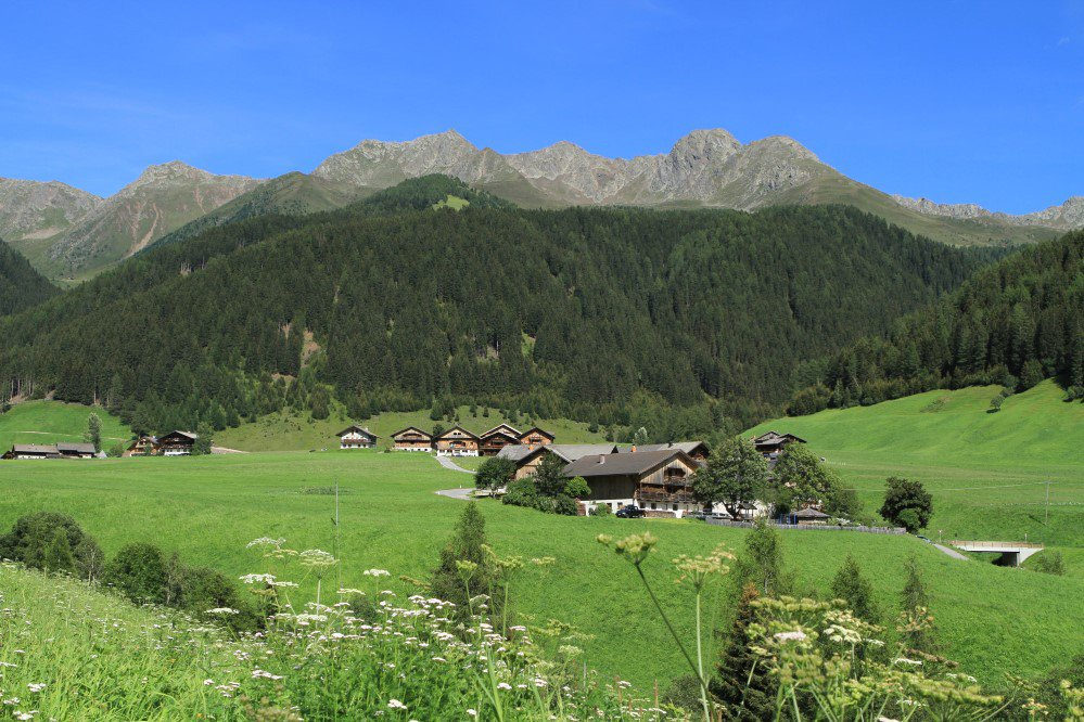 The romantic mountains in Val Casies – Summer in Santa Maddalena/Casies